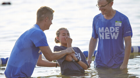 2019 Lake Baptisms