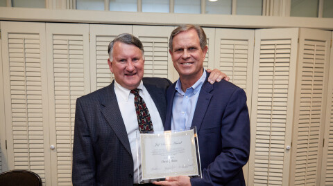 Pastor Dave Gibson Receives First-Ever Jeff Siemon Award